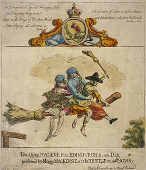 Witches: The Flying Machine from Edinburgh in One day