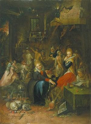 Witches: Frans Francken II, Witches' Sabbath, 1606