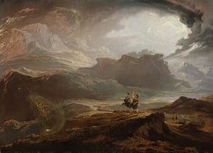 Witches: John Martin, Macbeth, from circa 1820