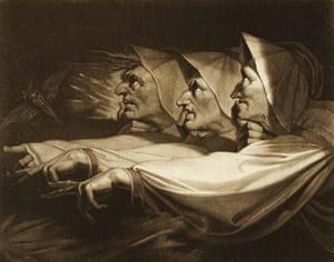 Henry Fuseli Three Weird Sisters from Macbeth, 1785