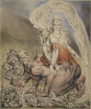 Witches: William Blake, The Whore of Babylon, 1809