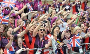 Gamesmakers at the London Olympic Games