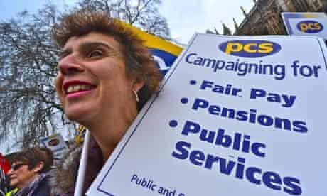 PCS strike in London