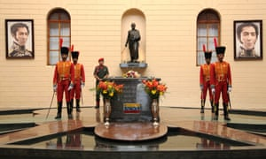tomb of President Hugo Chavez