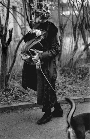 Witches: Markéta Luskacová, Woman in a Cat Mask