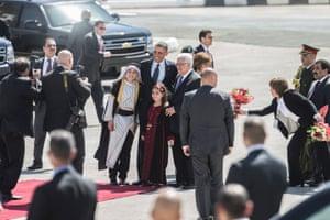 President Barack Obama and Palestinian Authority President Mahmoud Abbas