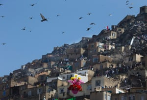 Localswatch from the hill overlooking the Kart-e Sakhi mosque.