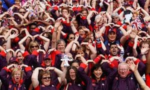 olympics volunteering