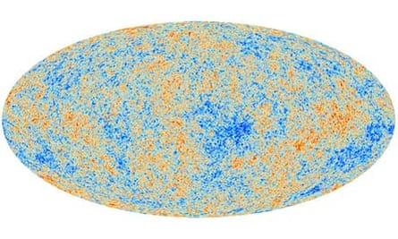 Planck map