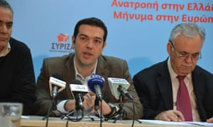 Alexis Tsipras said that the SYRIZAS political party is in solidarity with the Cyprus citizens in such a difficult time.