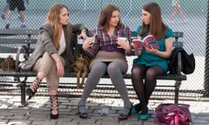 Jemima Kirke, Lena Dunham and Zosia Mamet in Girls