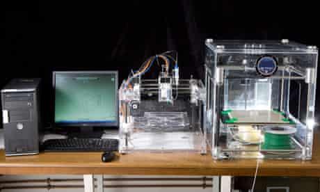 A university 3D printer
