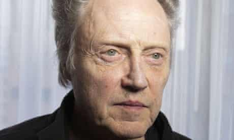 'I don't usually get to play fathers or uncles' …Christopher Walken.