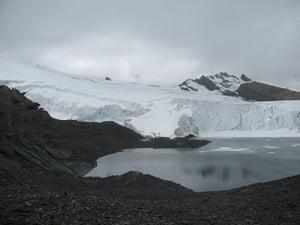 Peruvian Andes glacier