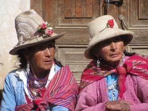 Peruvian villagers