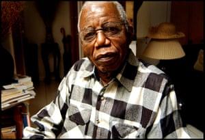 Chinua Achebe gallery: Novelist Chinua Achebe