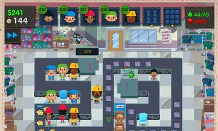 Sweatshop video game