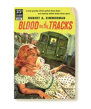 Record book covers: Blood on the Tracks