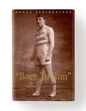 Record book covers: Born to Run