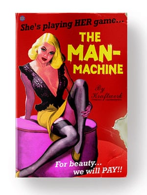 Record book covers: The Man-Machine