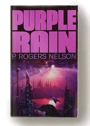 Record book covers: Purple Rain