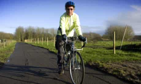 Michael Atkins on the Guild Wheel cycleway that he co-devised in Preston