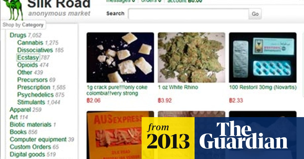 Silk Road: the online drug marketplace that officials seem
