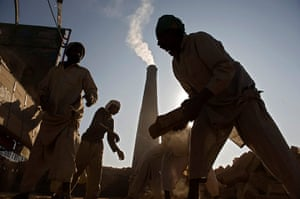 Modern slavery: bonded labour at a brick factory in Rawalpindi, Pakistan