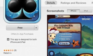 Apple adds 'Offers In-App Purchases' App Store warning to freemium