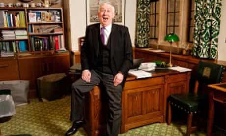 Deputy speaker Lindsay Hoyle in his office in Westminster