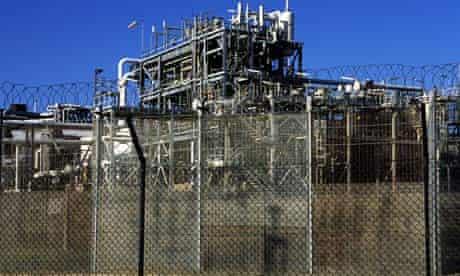 Bacton Gas terminal in Norfolk, UK.
