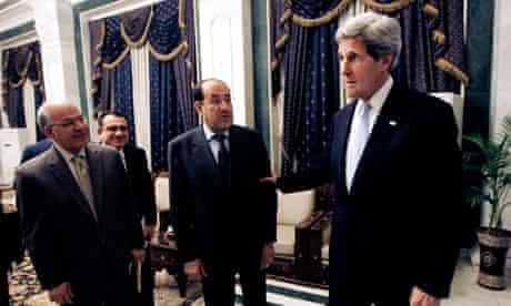 John Kerry, Nouri al-Maliki