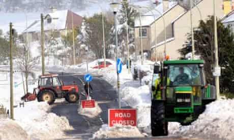 Snow in Cargan Glens