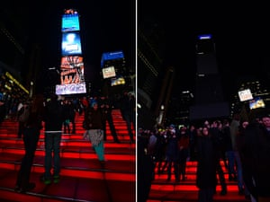 WWF Earth Hour: on Times Square