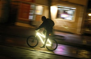 WWF Earth Hour: Cyclists Bike Ride To Mark The Earth Hour In Vladivostok