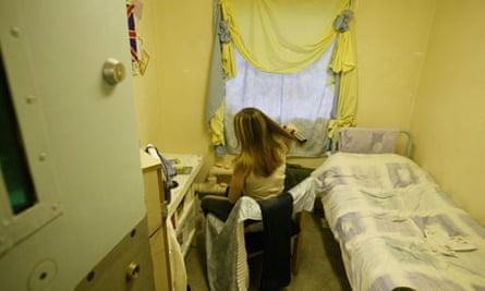 A female prisoner