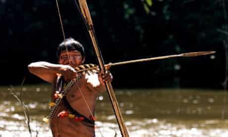 An Amazon Cinta Larga indian