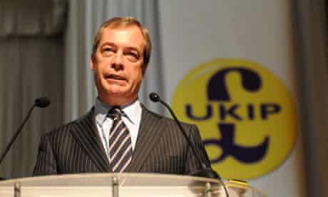 Nigel Farage at Ukip conference, Exeter 23 Mar 2013