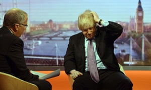 Eddie Mair grills Boris Johnson