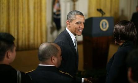 Obama Attends Naturalisation Ceremony