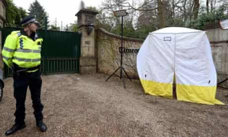 police boris berezovsky house