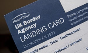 Theresa May is making a statement about the UK Border Agency.