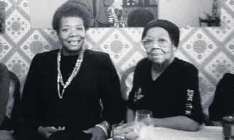 Maya Angelou with her mother, Vivian Baxter