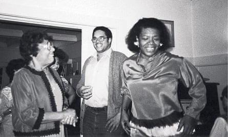 Maya Angelou with her mother Vivian Baxter