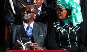 Robert Mugabe at pope's inauguration