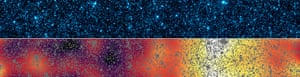 A month in Space: The patterns of light from the first stars and galaxies