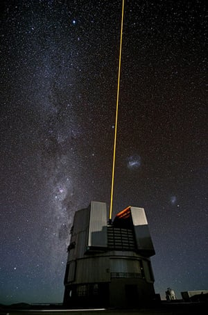 A month in Space: The Comet and the Laser
