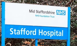 Stafford hospital, where care failings contributed to the deaths of between 400 and 1,200 patients