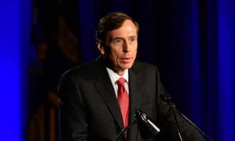 In his first public speech since resigning as CIA head over an affair, David Petraeus