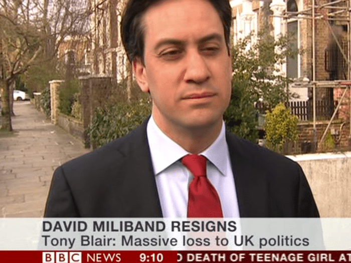 David Miliband resigns as an MP - reaction: Politics live blog | Politics |  The Guardian